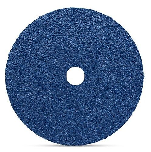 7 x 7/8 x 80 Grit Zirconium Fiber Disc