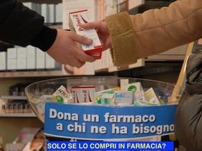 ANCHE IN PARAFARMACIA TROVI UN PROFESSIONISTA CHE PUO' AIUTARTI A DONARE UN FARMACO. LO SAPEVI?