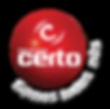 Logo Esfera Vermelha NOME BRANCO com som
