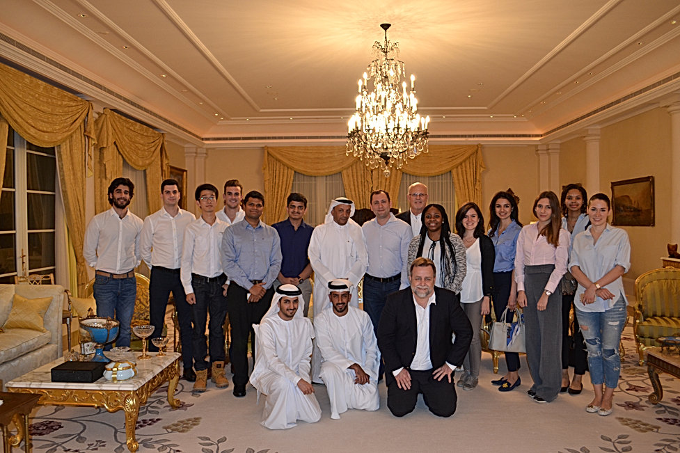 Former Minister of Oil and Health UAE (2