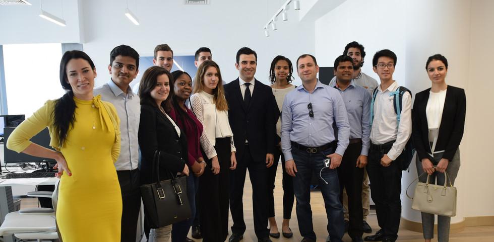 CEO of Calatrava Middle East (2017)