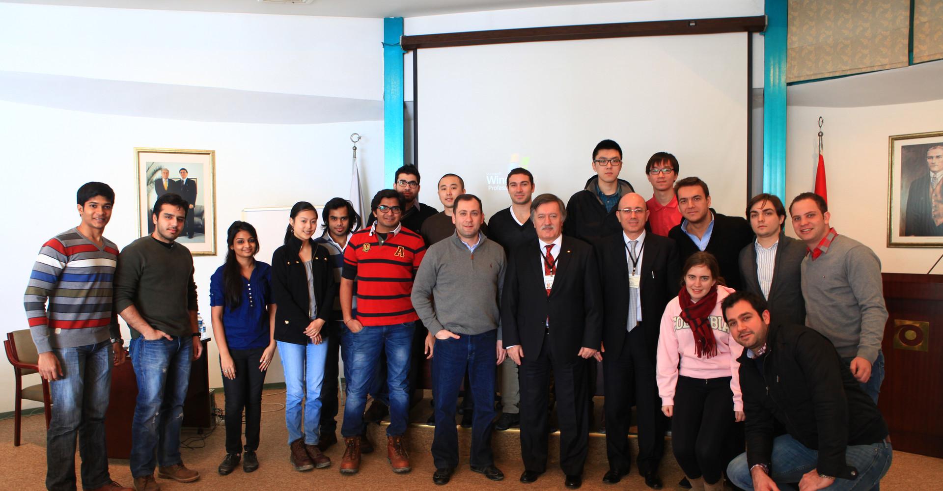 Chairman of Alrako Holding Turkey (2013)