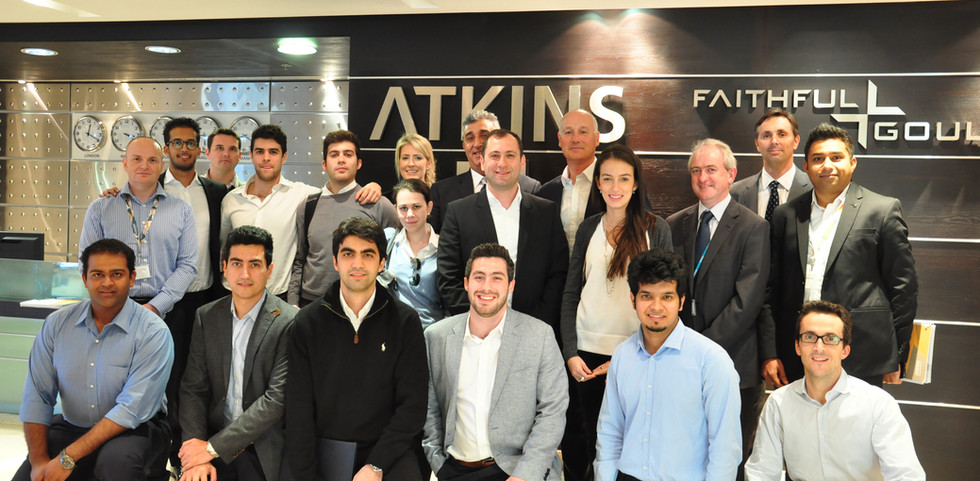 CEO of Atkins Middle East (2015)