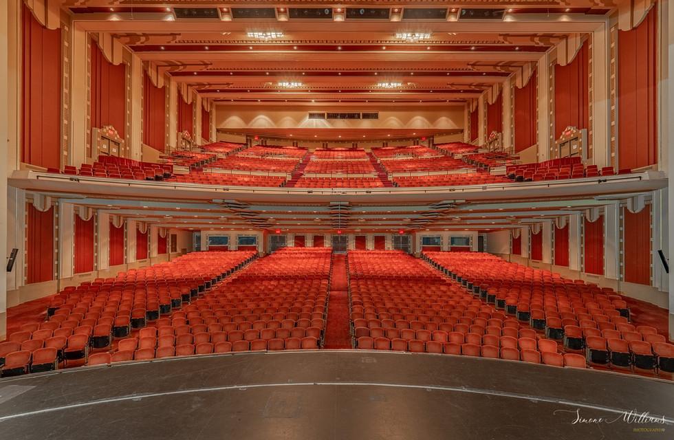 The Adler Theatre in Davenport Iowa
