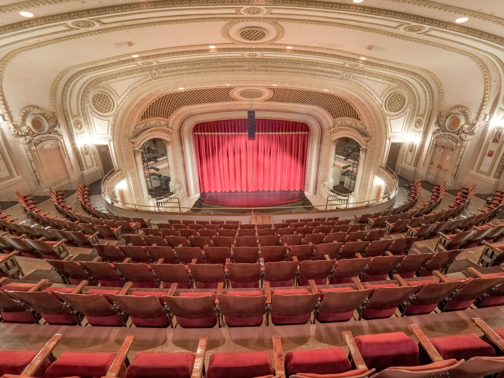 Orpheum Theatre Galesburg Illinois Seating