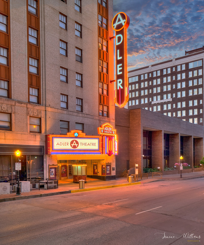 Adler Theatre in Davenport Iowa