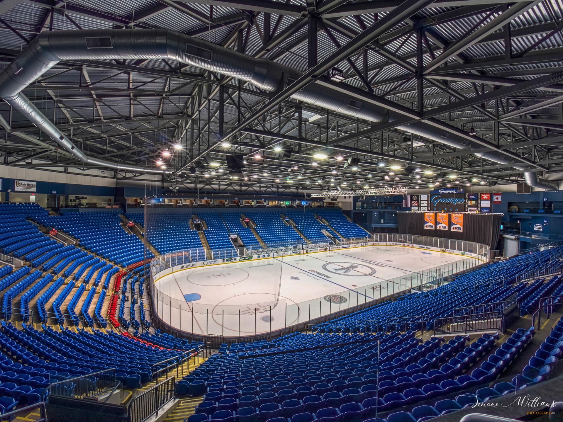 Grossinger Motors Arena Ice Ring