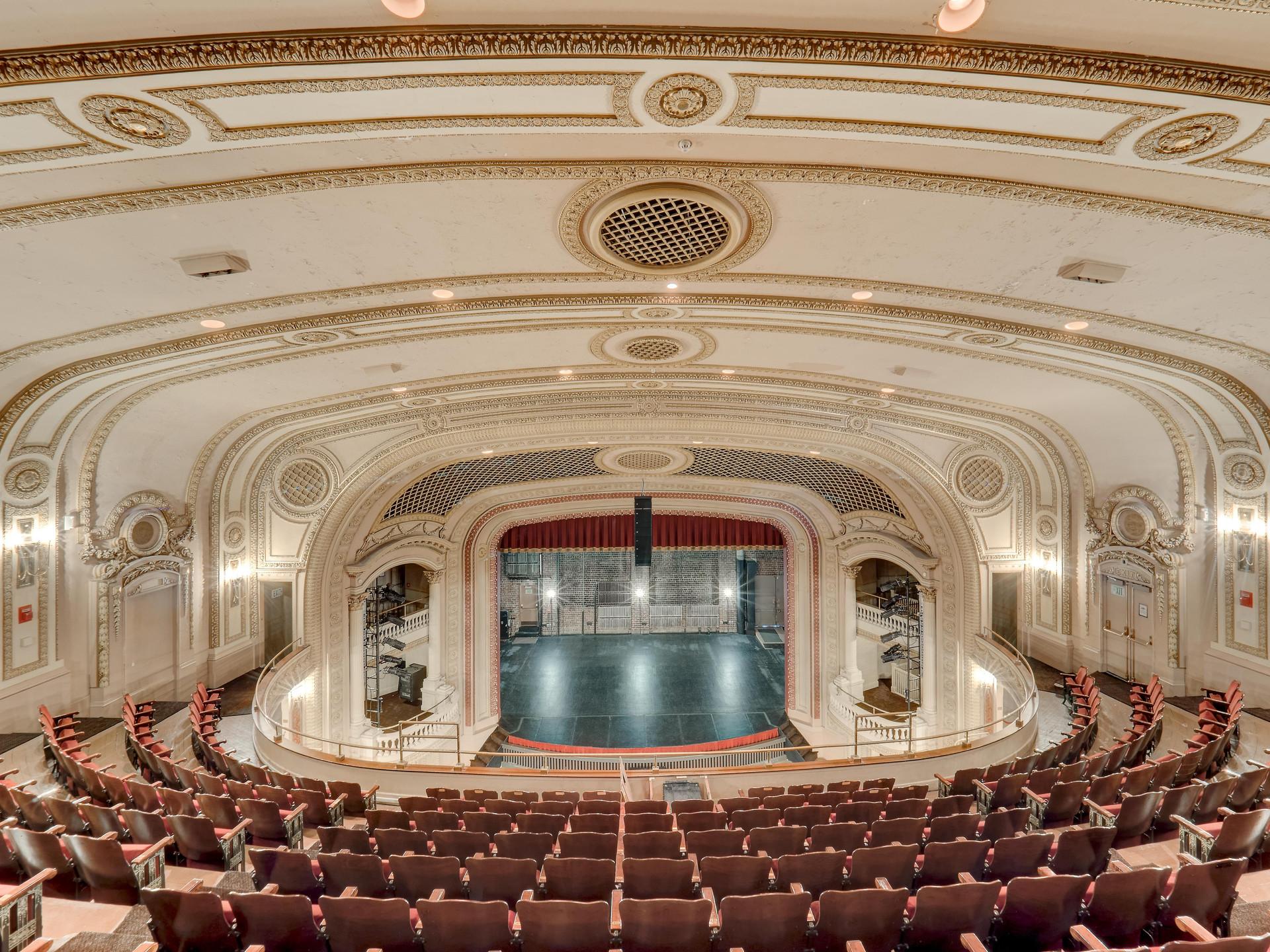 Orpheum Theatre Galesburg Close up