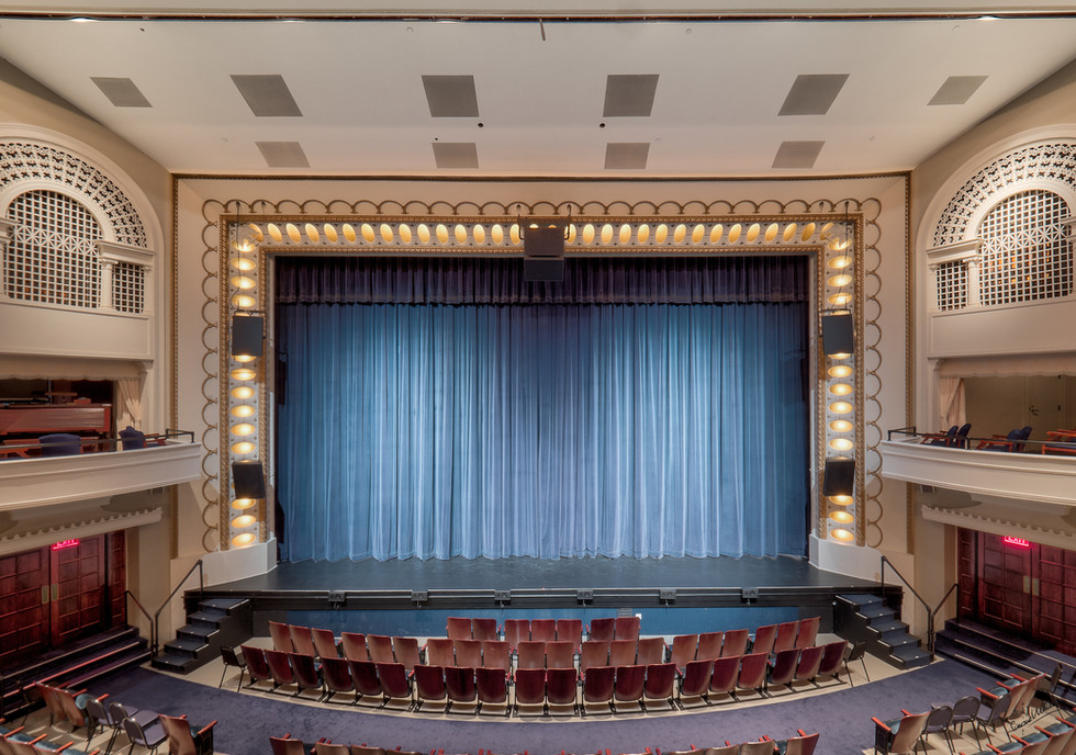 The Bloomington Center for the Performing Arts Stage