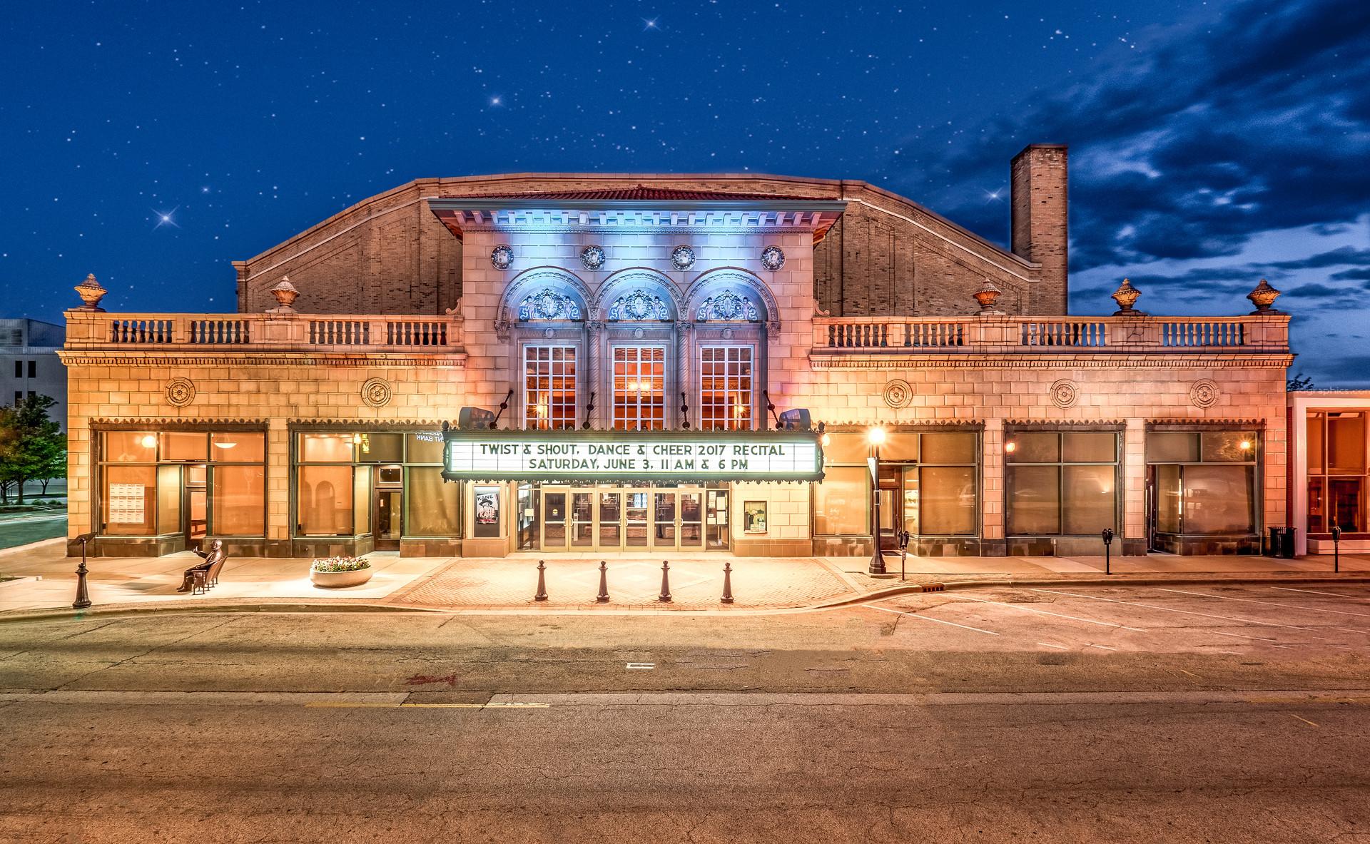 The Virginia Theatre in Champaign Illinois