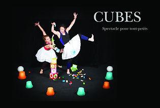 Cubes spectacle enfant