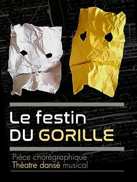 le festin du gorille pièce chorégraphique théâtre dansé