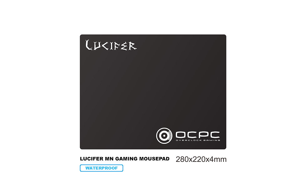 LUCIFER MN Gaming Mousepad