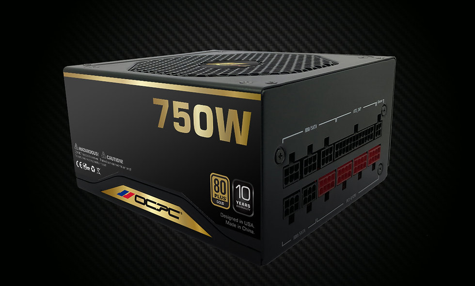 PSU GD750M 750W 80 Plus Gold F/M 110-240V