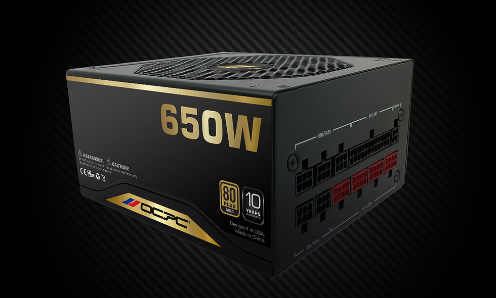 PSU GD650M 650W 80 Plus Gold F/M 110-240V
