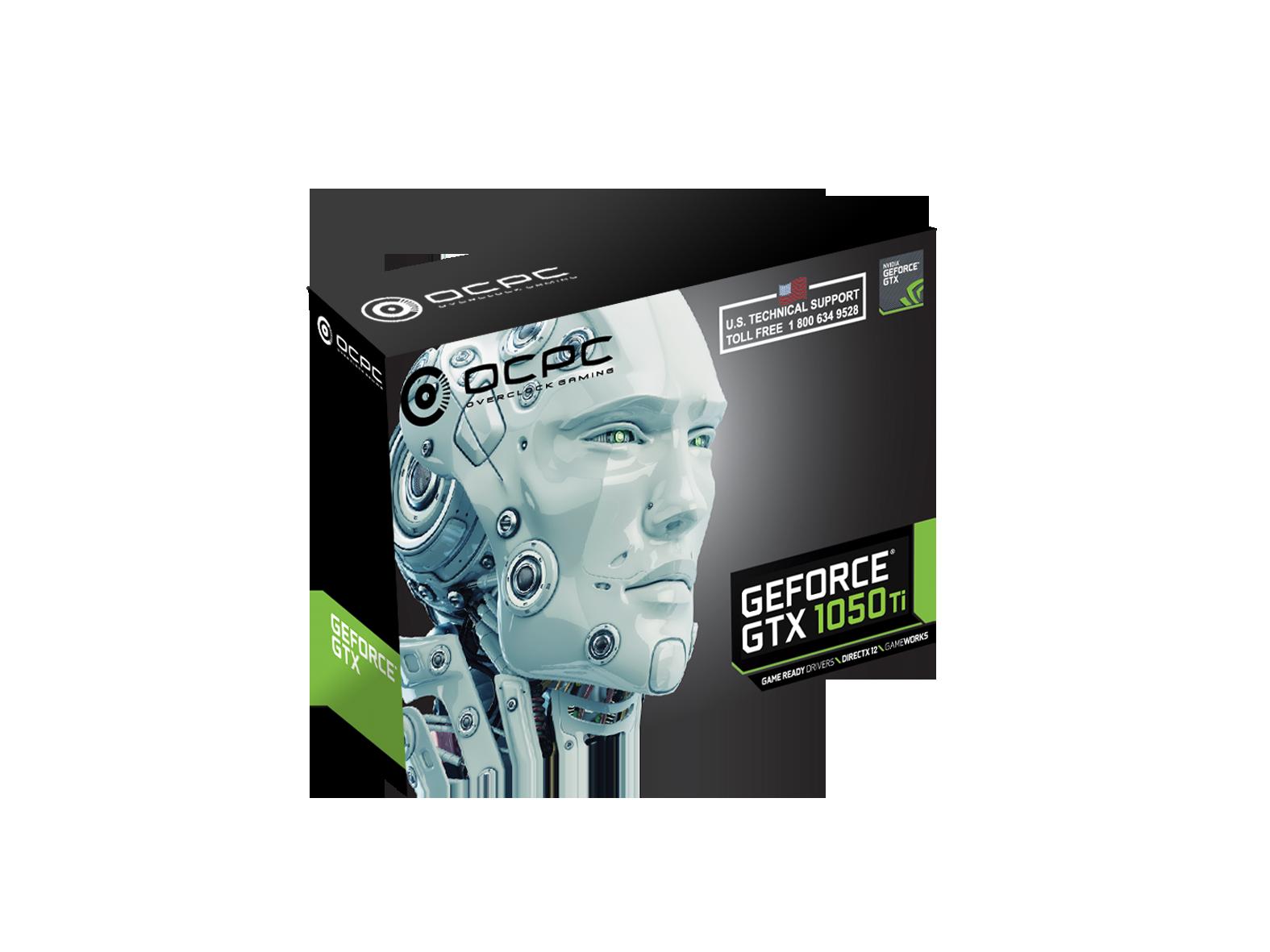 GeForce® GTX 1050 Ti 4GB   ocpc