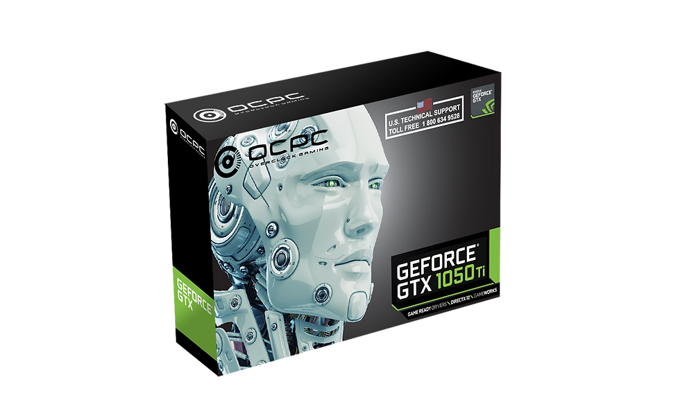GeForce® GTX 1050 Ti 4GB