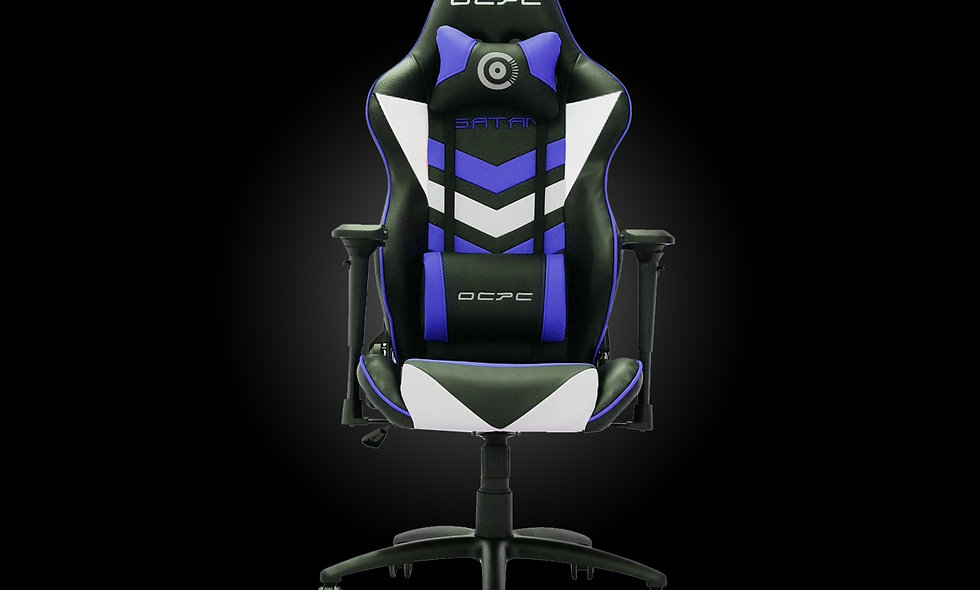 SATAN Gaming Chair | Blue/White