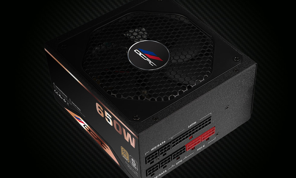 PSU BZ650DM 650W 80 Plus Bronze F/M 110-240V (For USA and S.America Only)