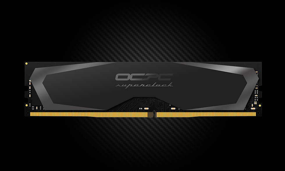 SuperClock DDR4 2666 8GB C16 | Black