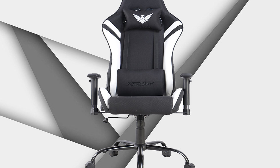 XT II Gaming Chair | Fabric Black/White