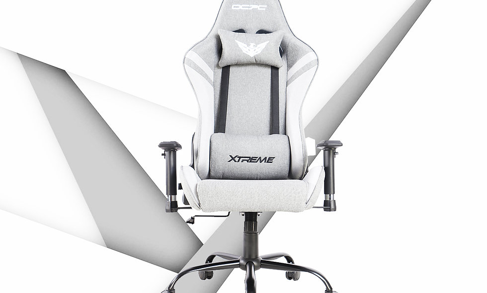 XT II Gaming Chair | Fabric Grey /White