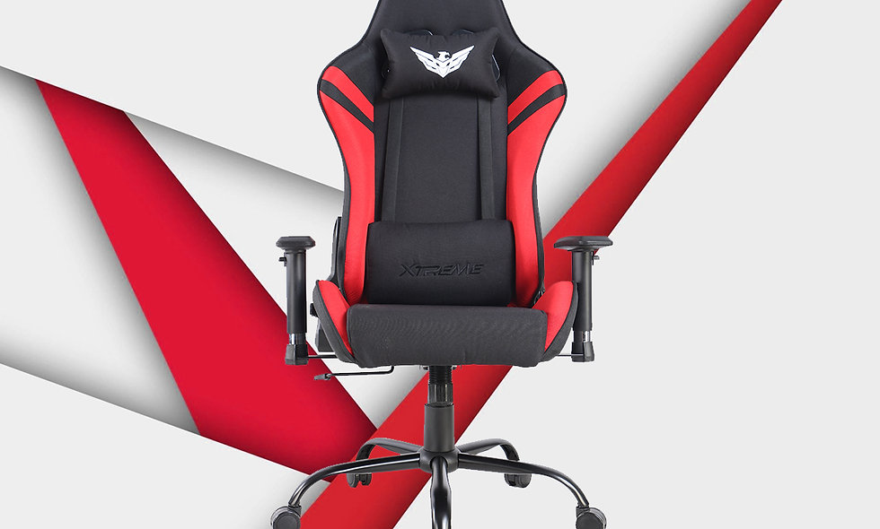 XT II Gaming Chair | Fabric Black/Red