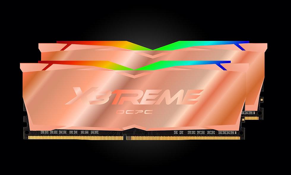 X3 RGB DDR4 3600 16GB (8GBx2) CL18 | Full Copper