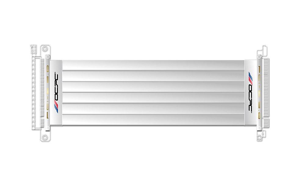 PCI-E 3.0 16X EXTENDER RISER CABLE 250MM (WHITE)
