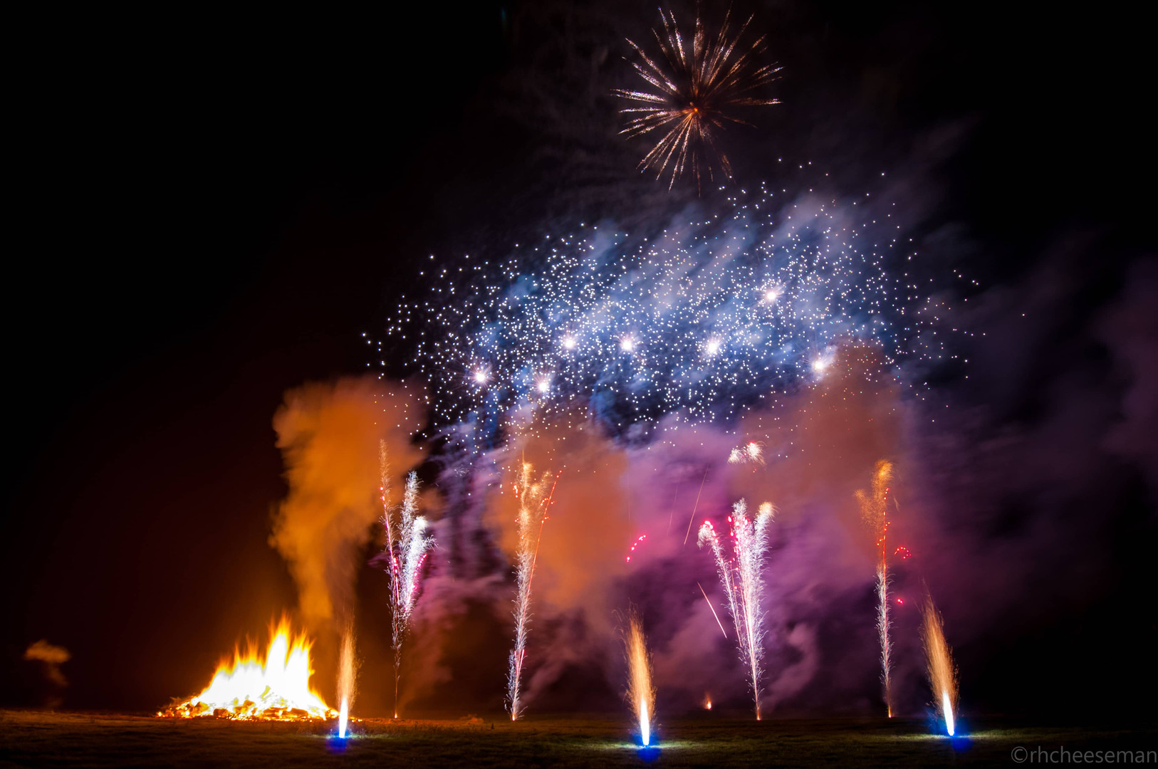 Northern Lights Fireworks Displays
