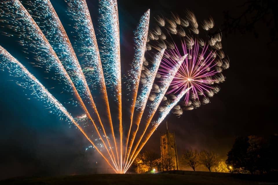Bonfire Night Fireworks Lancashire