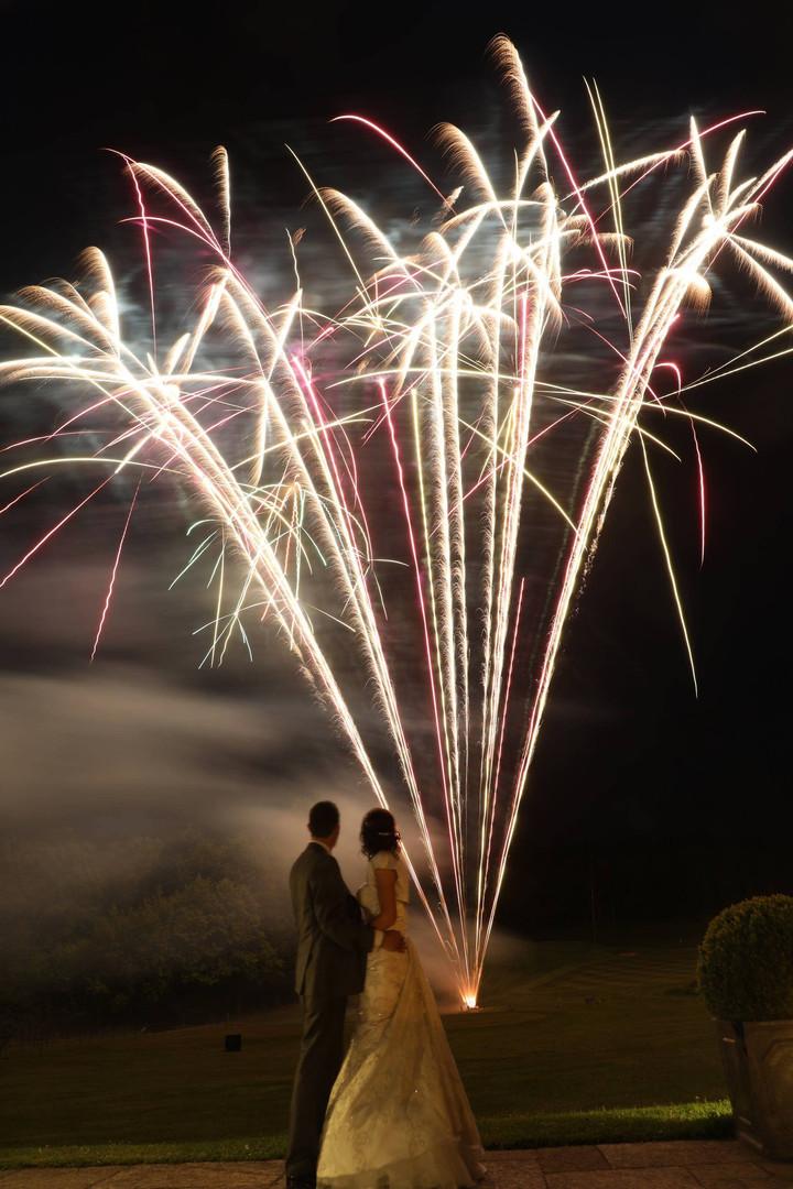 Wedding Fireworks Wiltshire