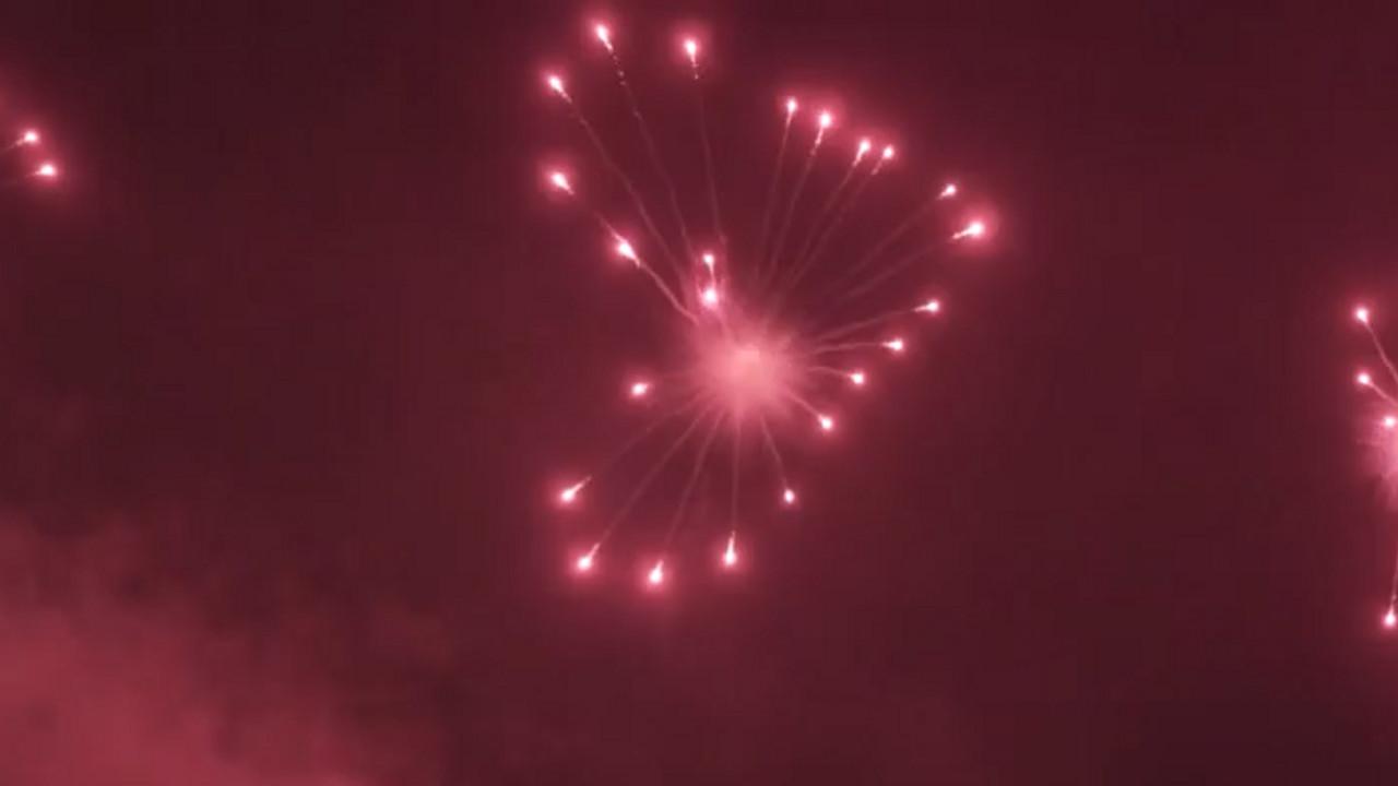 Wedding Fireworks Heart Shells