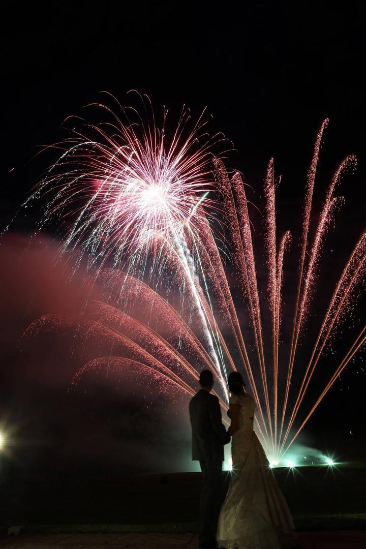 Wedding Fireworks Cheshire