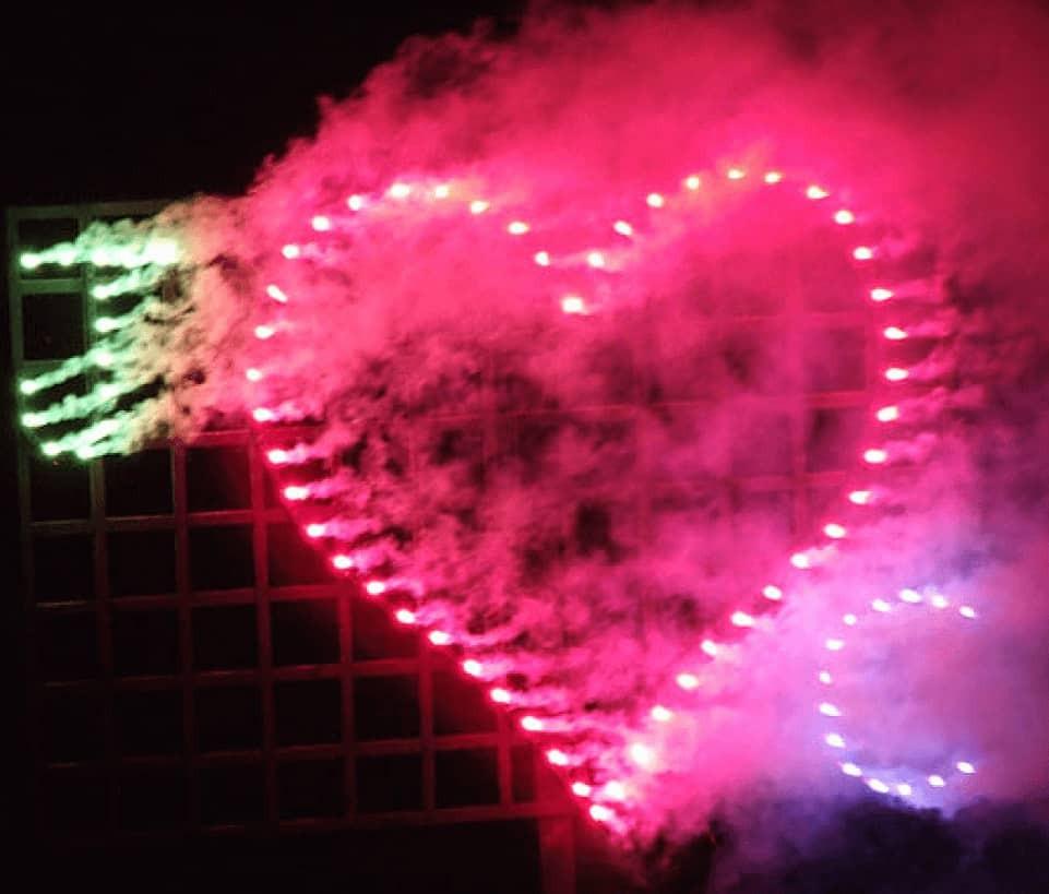 Wedding Fireworks Lancework