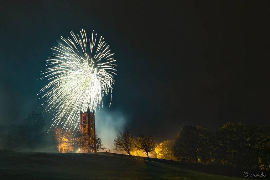 Light up Lancaster firework display by Northern Lights Fireworks