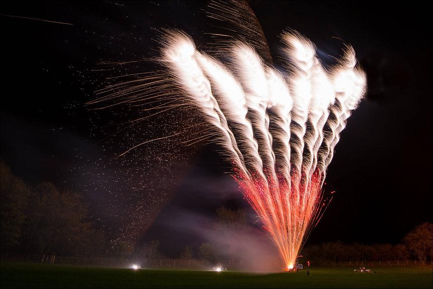 Wedding firework display company in the UK