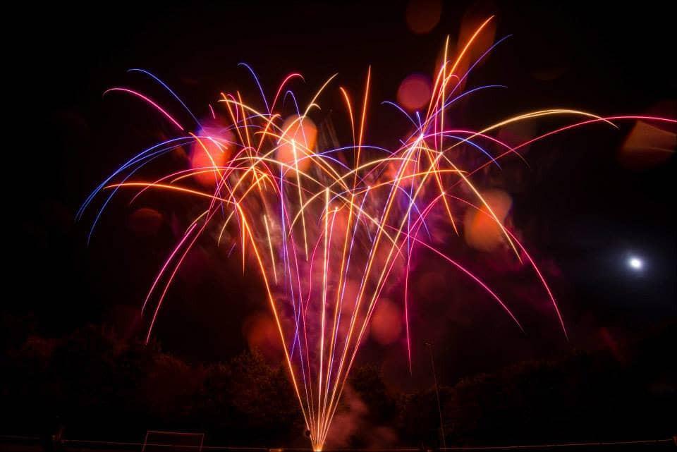 Wedding Fireworks Lancashire