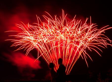 The Villa (Wrea Green) - Wedding Fireworks by Northern Lights Fireworks
