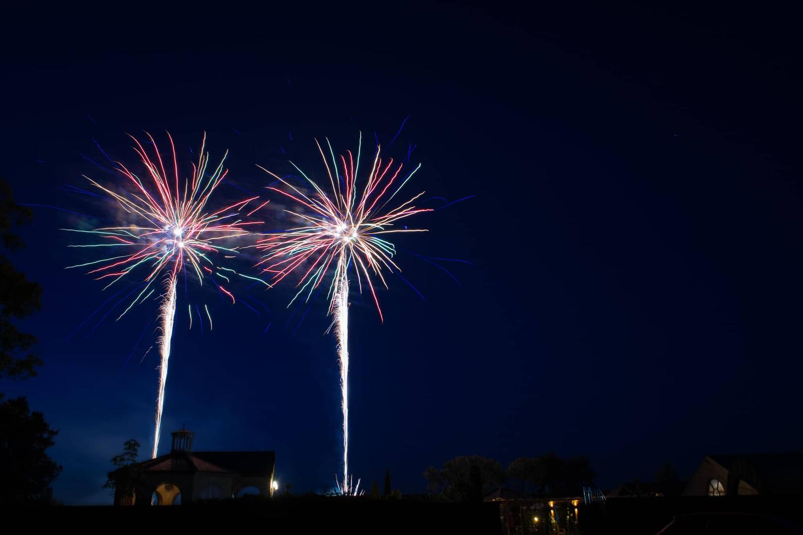 Wedding Entertainment Fireworks