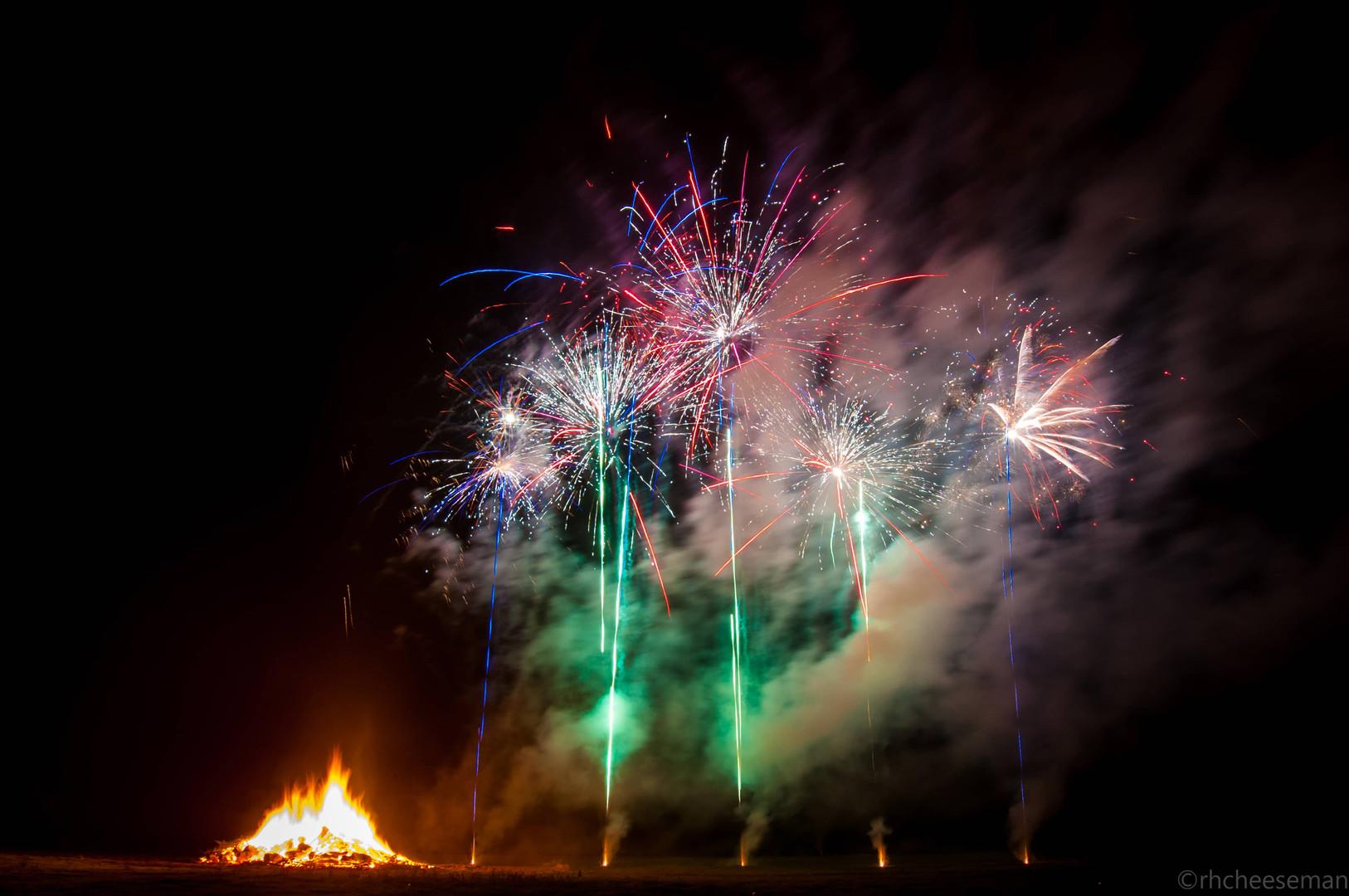 Public Event Fireworks Wiltshire