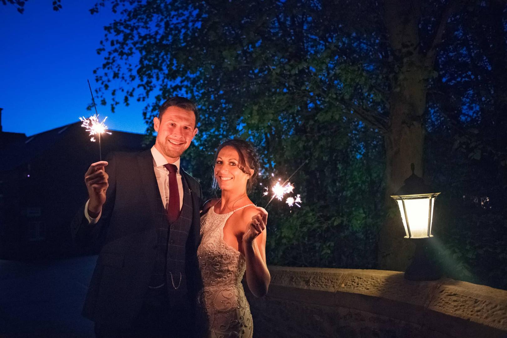 Wedding Fireworks Sparklers