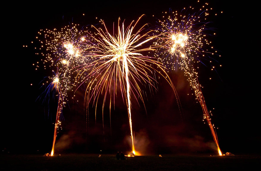 Firework display in Wiltshire by Northern Lights Fireworks