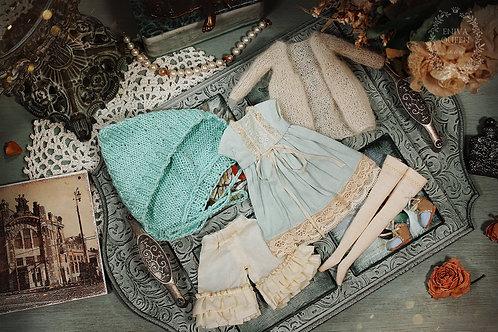 Marshmallow  dress collection: Mint Marshmallow