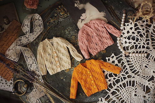 """Lace vintage knitted blouses. Collection""""Forest girls"""""""