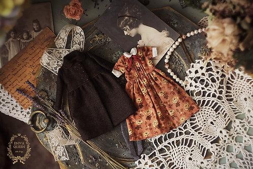 "Vintage clothes set for Pullip. Collection ""Forest girls"": old roses"