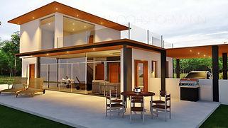 pool villa khon kaen, house builder, construction, architect
