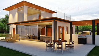 pool villa khon kaen, house builder, construction, architect