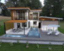 pool villa khon kaen, construction company khon kaen