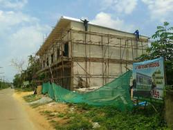 Townhouse construction in Khon Kaen